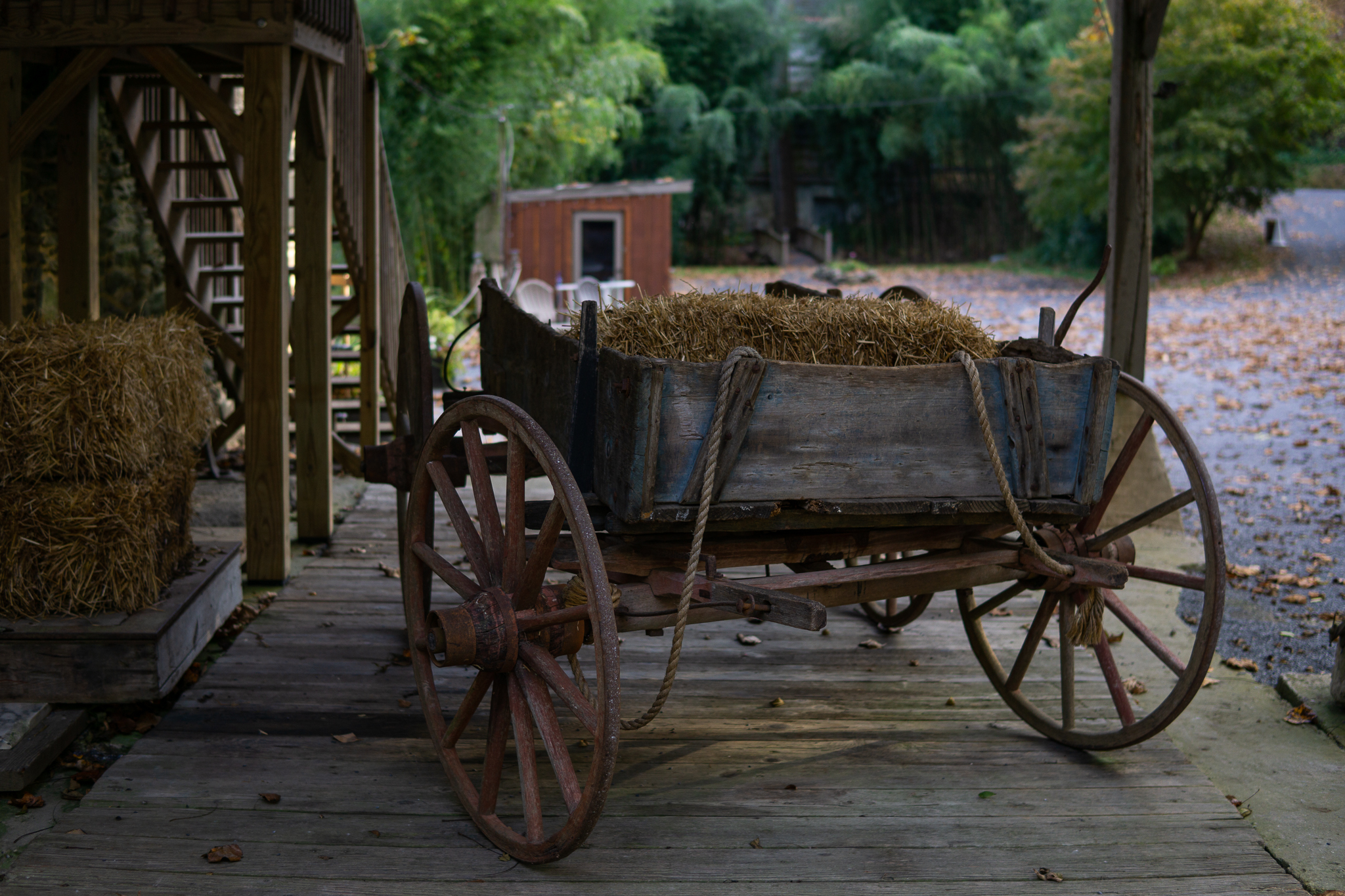Old Wagon by The Mill