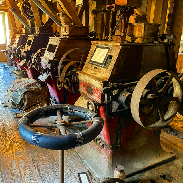 Mill's mechanical machines
